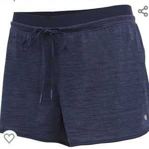 Knit/Woven Quick Dry Running/Yoga Compress Shorts